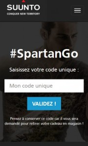 SpartanGo - a Responsive Website