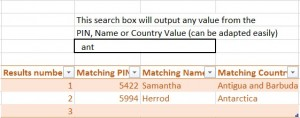 final dynamic search box in excel